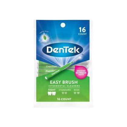 DenTek Удобное очищение Межзубные щетки для Узких промежутков, 16 шт.