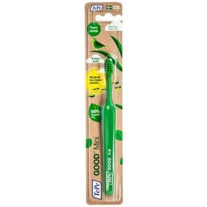 Зубная щетка TePe Good Compact Soft экологическая Зеленая