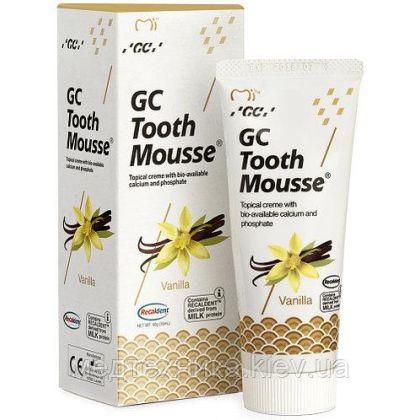 Тус Мусс Ваниль (TOOTH MOUSSE) гель для реминерализации и укрепления зубов GC, 1 тюбик 35 мл
