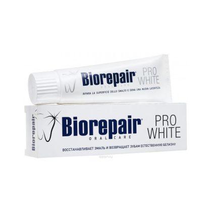 Biorepair PRO Зубная паста PRO WHITE