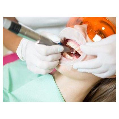 Service anesthesia when dental care